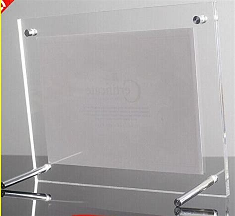 Mba For Diploma Holders In Uae by L Frames Free Standing Acrylic Certificate Holders