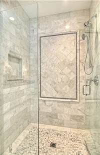 Shower Ideas Bathroom by Family Home With Coastal Transitional Interiors Home