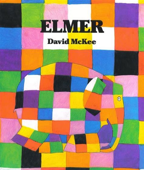 Elmer The Patchwork Elephant - cool reads elmer the elephant cool progeny