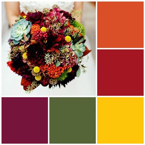 fall color schemes 12 fall color palettes for your kitchen