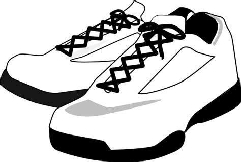 running shoes clip at clker vector clip