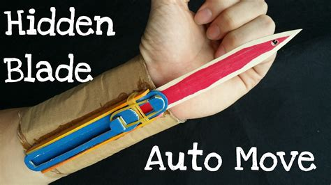 How To Make A Paper Assassins Creed Blade - how to make the automatic blade assassin s