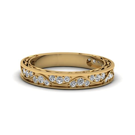 women  yellow gold diamond rings wedding promise