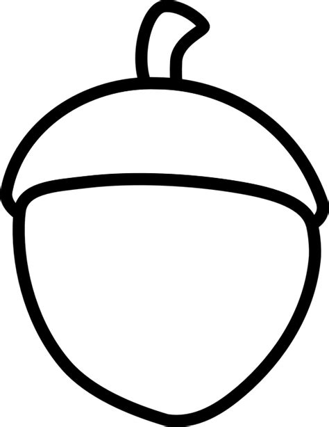 Acorn Drawing Outline by Free Vector Graphic Acorn Sketch Autumn Outline Free Image On Pixabay 307347