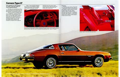 car engine manuals 1977 chevrolet camaro free book repair manuals car brochures 1977 camaro brochure canada 1977 camaro page 4 5 jpg