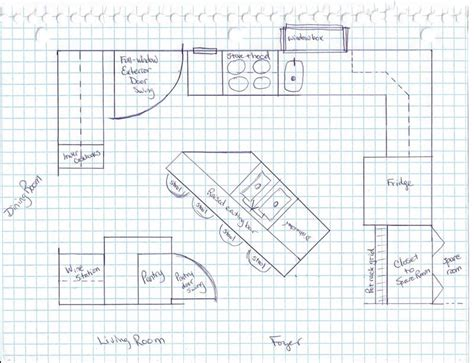 how to lay out a kitchen the best way to lay out a kitchen