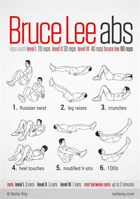 25 best ideas about bruce workout on