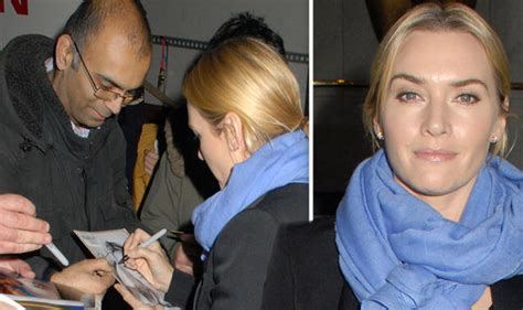 A Comment From Kate by Kate Winslet Signs Autographs At Bafta After Clarifying
