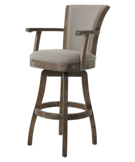 Oversized Bar Stools With Arms by Impacterra Glenwood Swivel Counter Stool With Arms Bar