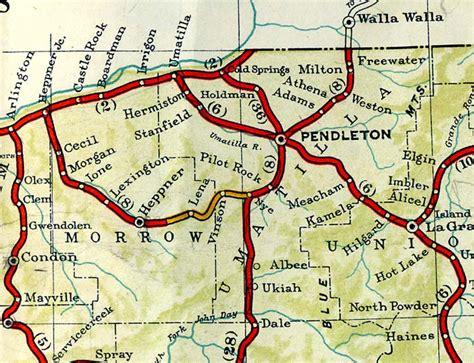 map of umatilla oregon umatilla oregon map oregon map