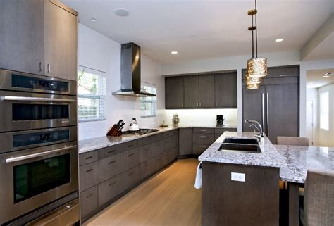 grey contemporary kitchen contemporary grey kitchen bath