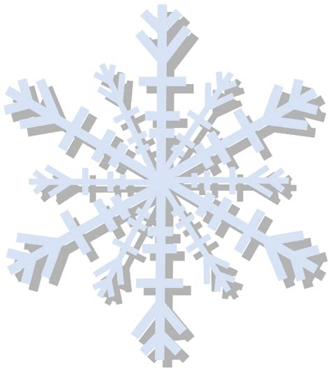 clipart neve snow flake clip at clker vector clip