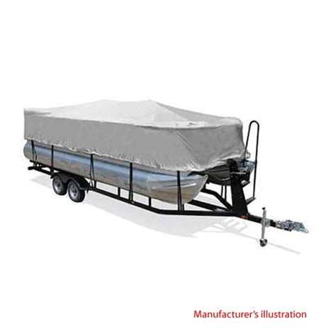 pontoon boat guard cover taylor made 70210 gray 18 20 ft playpen pontoon boat