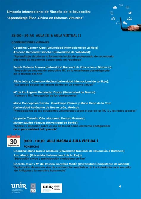 el cuervo filosofa programa simposio internacional de la filosof 237 a educativa aprendiza