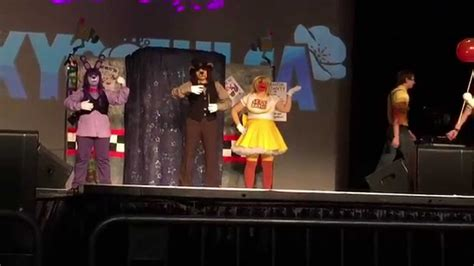 tokyo  tulsa  cosplay contest  skit fnaf youtube