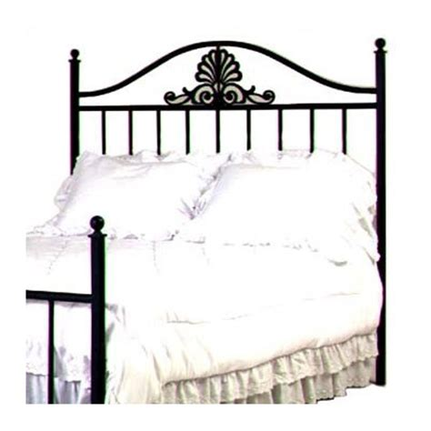 full size wrought iron headboard buy charleston full wrought iron bed finish burnished