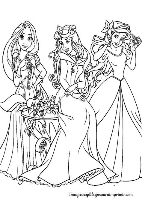 dibujos de princesas para colorear p gina 2 colorear princesas disney