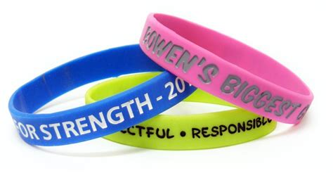 Personalised Wristbands   The Trophy Room
