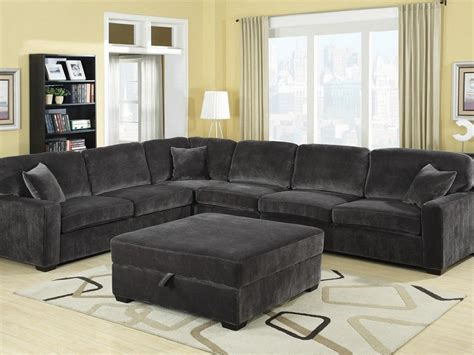 charcoal gray sectional sofa home design ideas