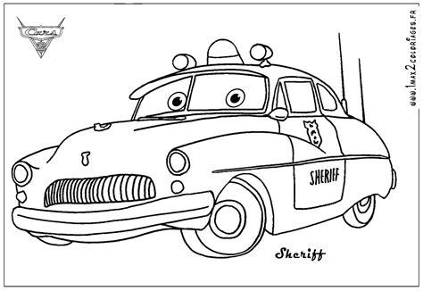 sheriff cars coloring pages coloriage cars les beaux dessins de disney 224 imprimer et