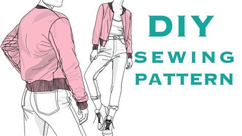 jacket pattern making youtube making a bomber jacket sewing pattern youtube