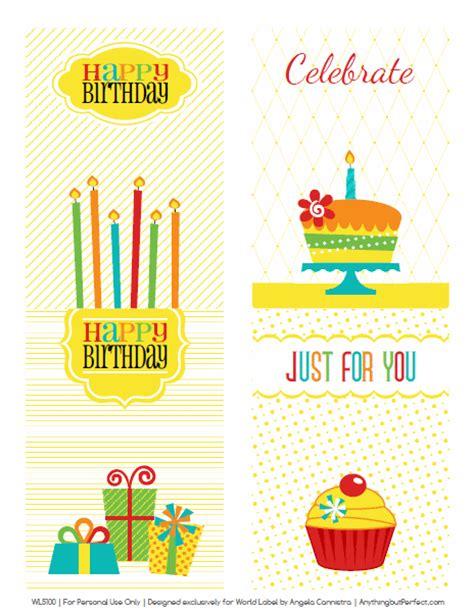 printable birthday stickers retro happy birthday printable labels set worldlabel blog