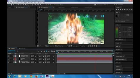 tutorial after effects aura after effects tutorial aura fire สอนทำเอฟเฟคออร าแบบไฟ