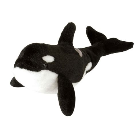 killer whale soft whale orca killer whale soft plush 10 quot 25cm cuddlekins