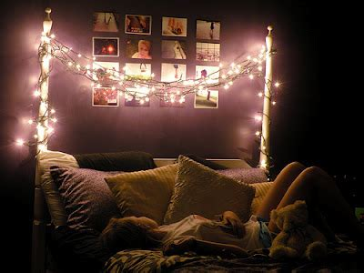 lights on bed 3 simple ways to give your room a makeover