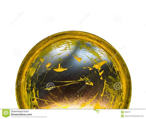 cover with a yellow paint royalty free stock photography image 9908757
