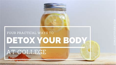 Detox Pathways Blocked by Four Practical Ways To Detox Your At College Edible