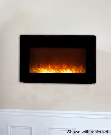 Firesense Wall Mounted Electric Fireplace by Sense Black Wall Mounted Electric Fireplace With Heater