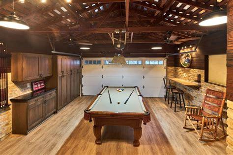 la mirada drive man cave   garage game rooms