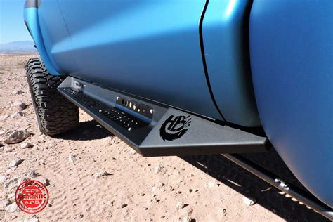 2007 Up Toyota Tundra HoneyBadger Side Steps (CrewMax): Off Road Bumpers: Aftermarket & Custom