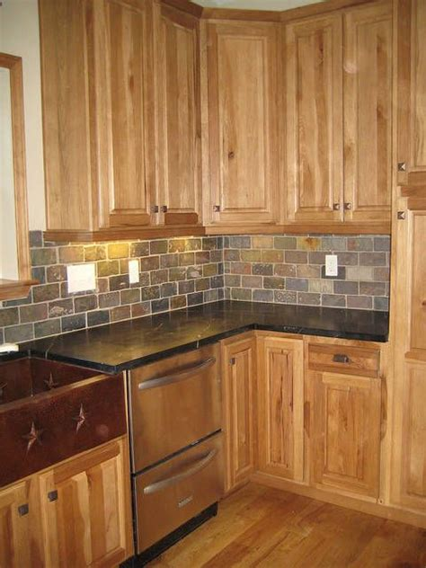 gray floors with hickory cabinets 25 best ideas about hickory cabinets on pinterest
