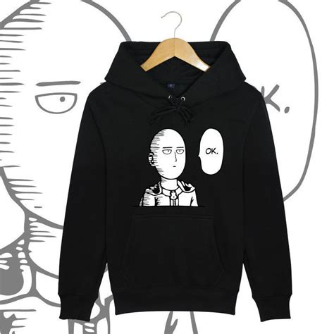 Jaket Anime Saitama Kuning One Punch one punch anime saitama unisex jacket sweatshirt