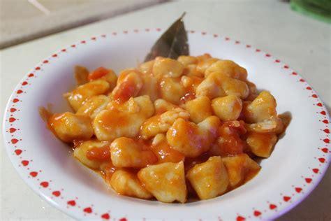 cocinar gnocchi gnocchi 209 oquis de patatas receta italiana recetas erasmus