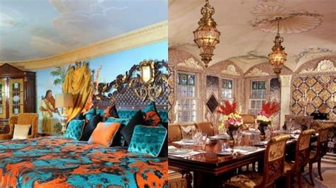the dining room at the villa by barton g katy perry parties at miami s amazing versace hotel
