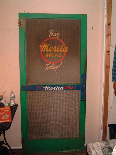 merita bread screen door  country store  cool