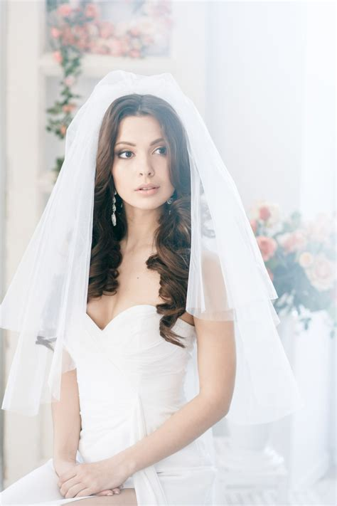 Modern Wedding Hair With Veil by Bridal Hairstyles Open Semi Open Or Pinned Up 100