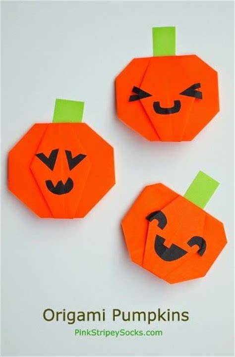 Origami Pumpkins - best 25 origami ideas on images of