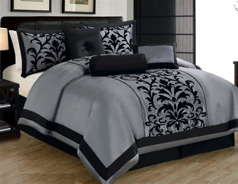 Grey Size Comforter Sets by Ebay