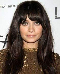 pictures of bangs shorter in the middle longer on sides 1000 images about the hair on pinterest long bobs
