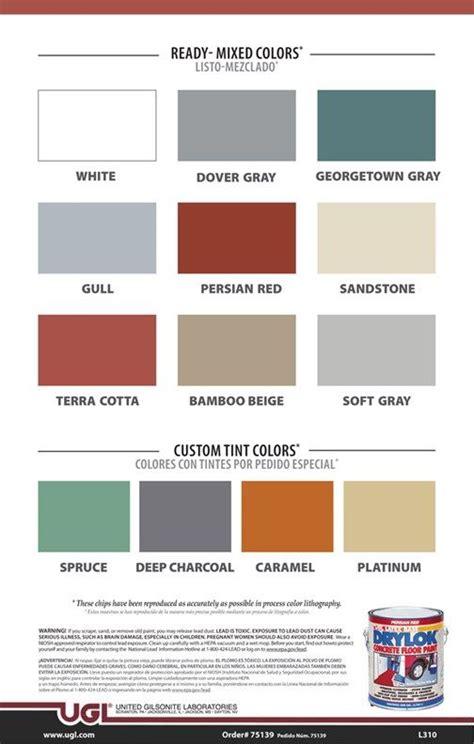 drylok garage floor paint gurus floor