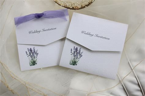 Wedding Invitations Lavender by Lavender Tri Fold Wedding Invitations Wedding Invites