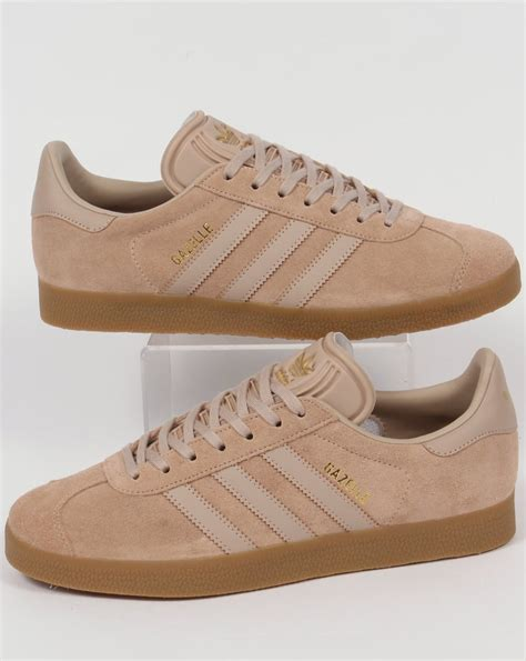 Sale Sepatu Casual Adidas Gazelle Gum Made In adidas gazelle trainers clay brown originals shoes mens sneakers