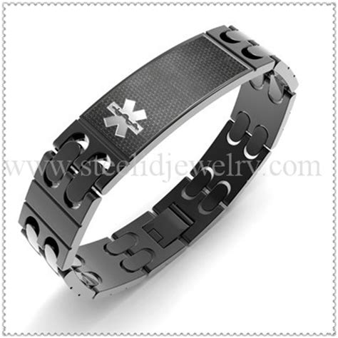 Spacious Rose Gold Male Medical Id Bracelet Medical Id, Male Id Bracelets   Sass Experience