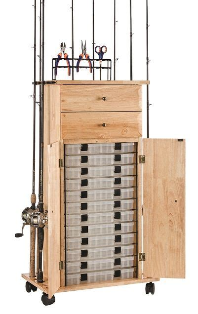 diy fishing rod storage cabinet 18 rod tackle storage cabinet rod rack fishing gear