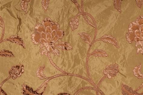 embroidered silk drapery fabric 5 3 yards beacon hill braylen embroidered silk drapery