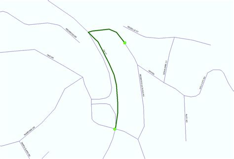 arcgis tutorial network dataset divided road in arcgis network dataset geographic